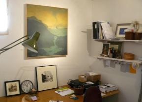 then over to my desk corner -