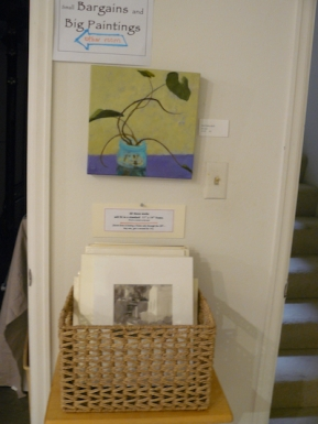 basket of 11x14's matted and ready to go