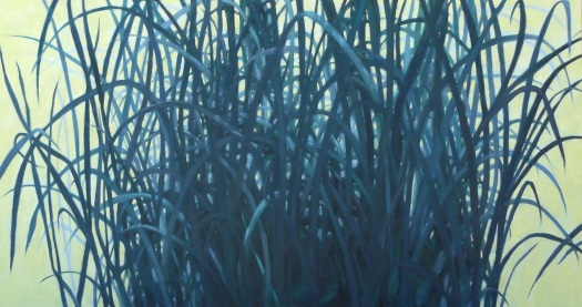 Bunch- Spring, 32x60 oil © 2016 Nanci Erskine