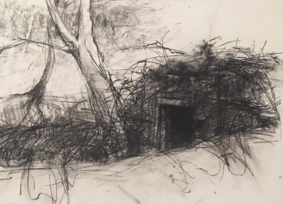 hideout - charcoal