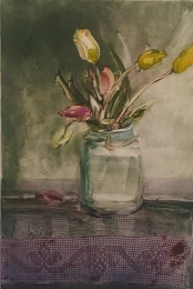 bouquet - monotype