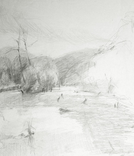 Kentucky Lake - graphite