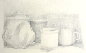 Tea Time - graphite