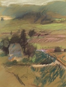 Towards Valley, WA- pastel